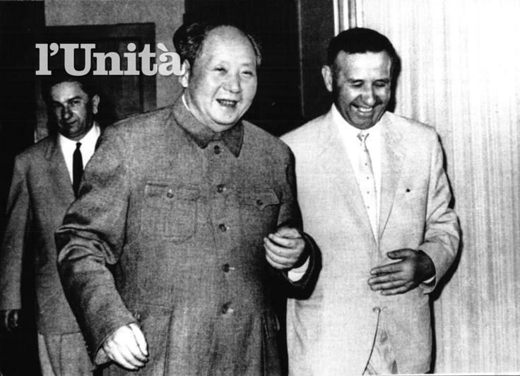 l'Unità.it, mehmet shehu, mao zedong, mao tse tung, b/w