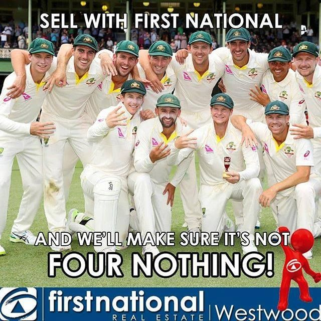 Unlike the Ashes we'll make sure it's not FOUR NOTHING!  #fnrewestwood