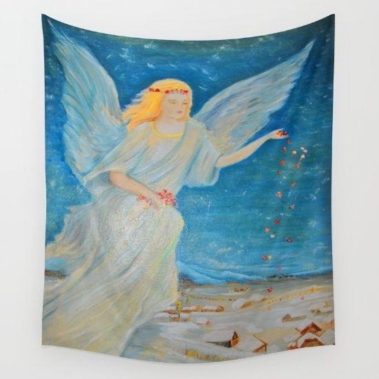 20% Off Free Worldwide Shipping Today #society6 #Christmas #shopping #sales #love #xmas #Noel #clouds #gift #ideas https://society6.com/product/bless-me--guardian-angels-are-here--angel-of-abundance--love-eh4_tapestry#s6-8111814p42a55v412