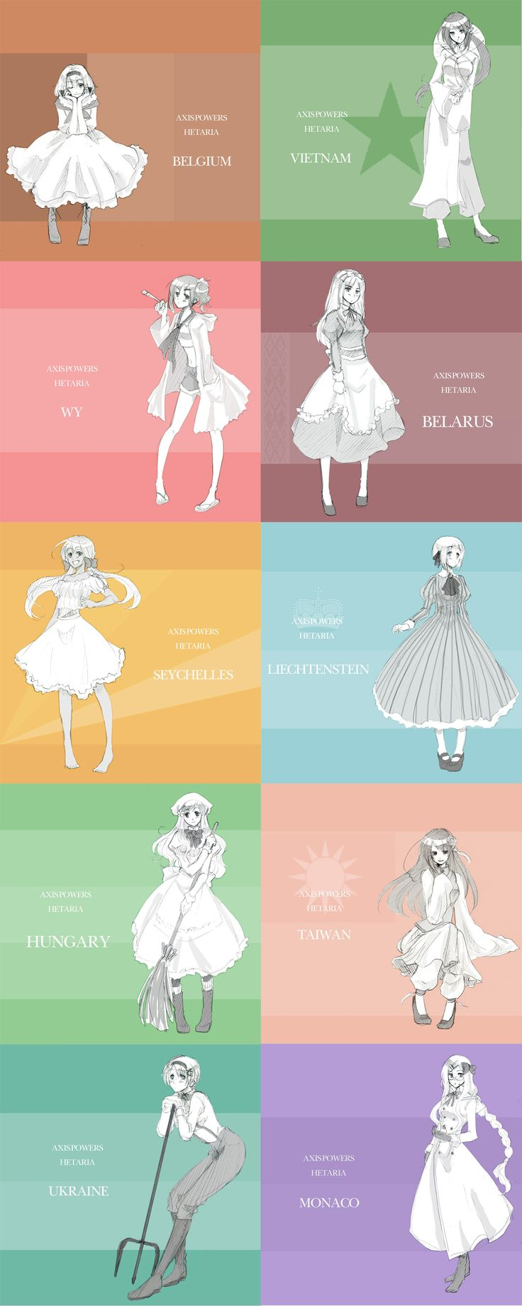 Hetalia: Girl Power