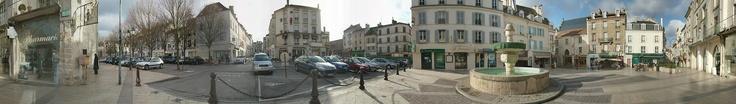 Place de la Fontaine à Lagny-sur-Marne - 2005