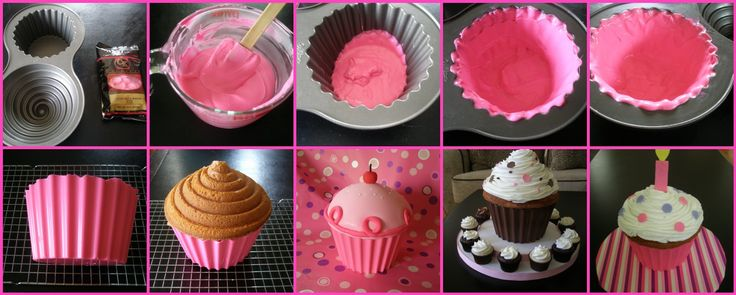 Giant Cupcake Decorating Ideas | Crafty Chic Mommy: MMMM...a GIANT cUpCaKe...in time for VALENTINES!!