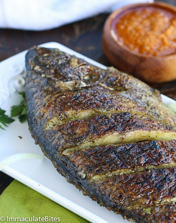 African grill tilapia