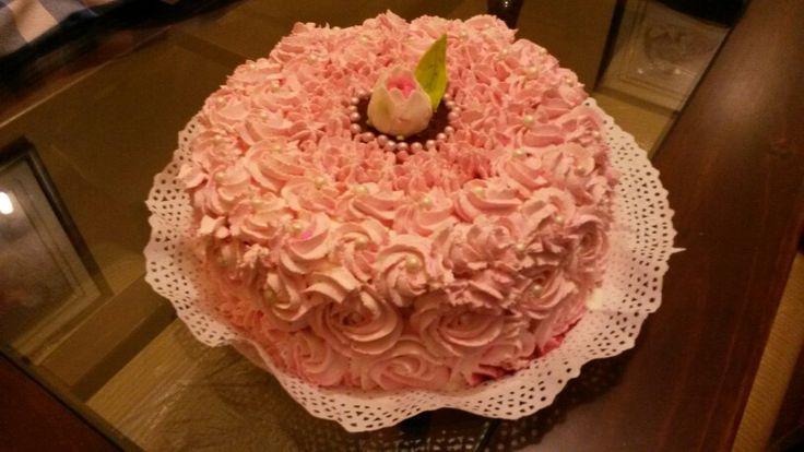 Torta helada frambuesa