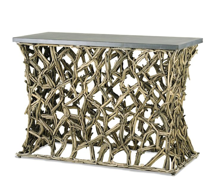 South Shore Decorating: Currey and Company 3115 Montauk Traditional Console Table CNC-3115