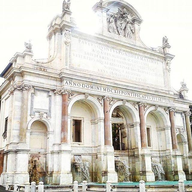 Fontana dell'Acqua Paola al Gianicolo
