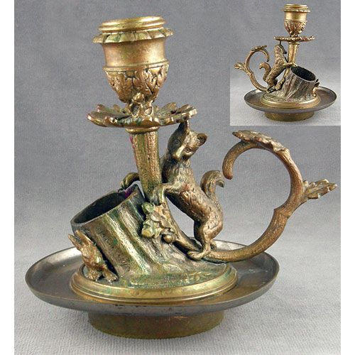 38 Best Antique Candle Holders Images On Pinterest