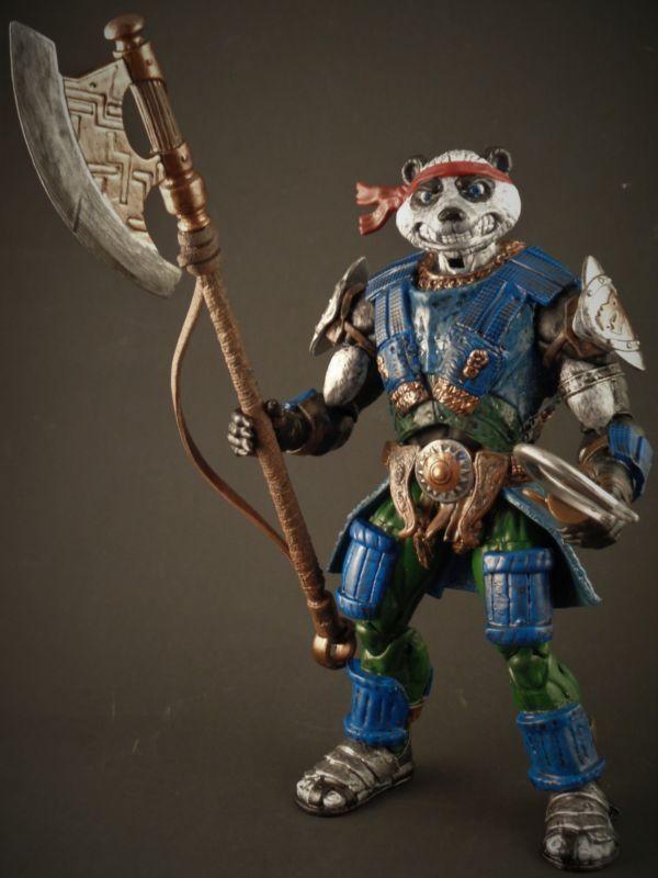 Panda Khan (Teenage Mutant Ninja Turtles) Custom Action Figure