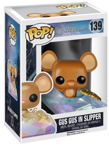 Gus Gus in Slipper Vinyl Figure 139 - Funko Pop! från Askungen