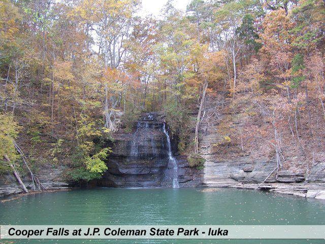 Cooper Falls At J P Coleman State Park Iuka Tishomingo