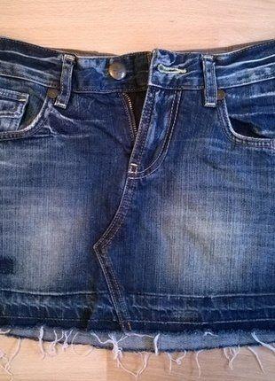 Riflová mini sukně KakyJeans vel. XS. Kupuj mé předměty na #vinted http://www.vinted.cz/damske-obleceni/minisukne/14926876-riflova-mini-sukne-kakyjeans-vel-xs