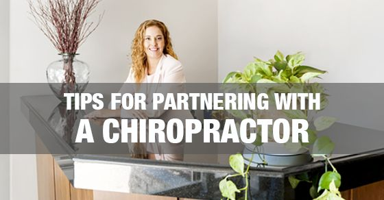 7 Simple Tips for Massage Therapists Partnering with a Chiropractor; great blog