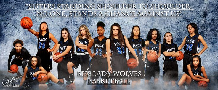 BHS Girls Basketball Team Banner Mikel's Fotografie & Design www.MikelsPhotog …   – Team Illustrations/Banners