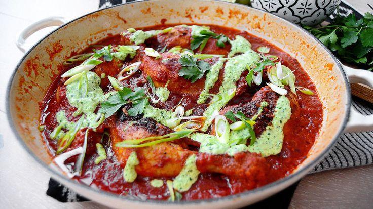 Ukens matblogg: Peruansk kyllinggryte med kremet chilisaus