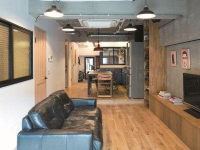 「nu(エヌ・ユー)リノベーション」のマンションリノベーション事例「アトリエを取り入れた、シーンが繋がるイエ」