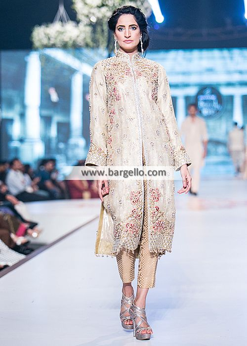 Faraz Manan Party Dresses Collection Edison New Jersey USA Party Dresses PBCW 2014 D4818 Party Wear