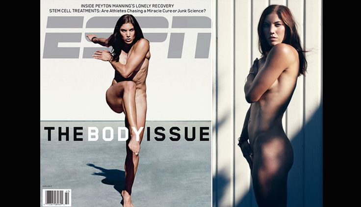 Hope Solo al desnudo: fotos sexys de la capitana de Estados Unidos