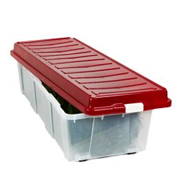 christmas tree storage box with wheels - Plastic Christmas Tree Storage Box