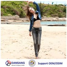 jeans supplier in china dark grey color slim stretch jeans pants for women 2015 Best Buy follow this link http://shopingayo.space