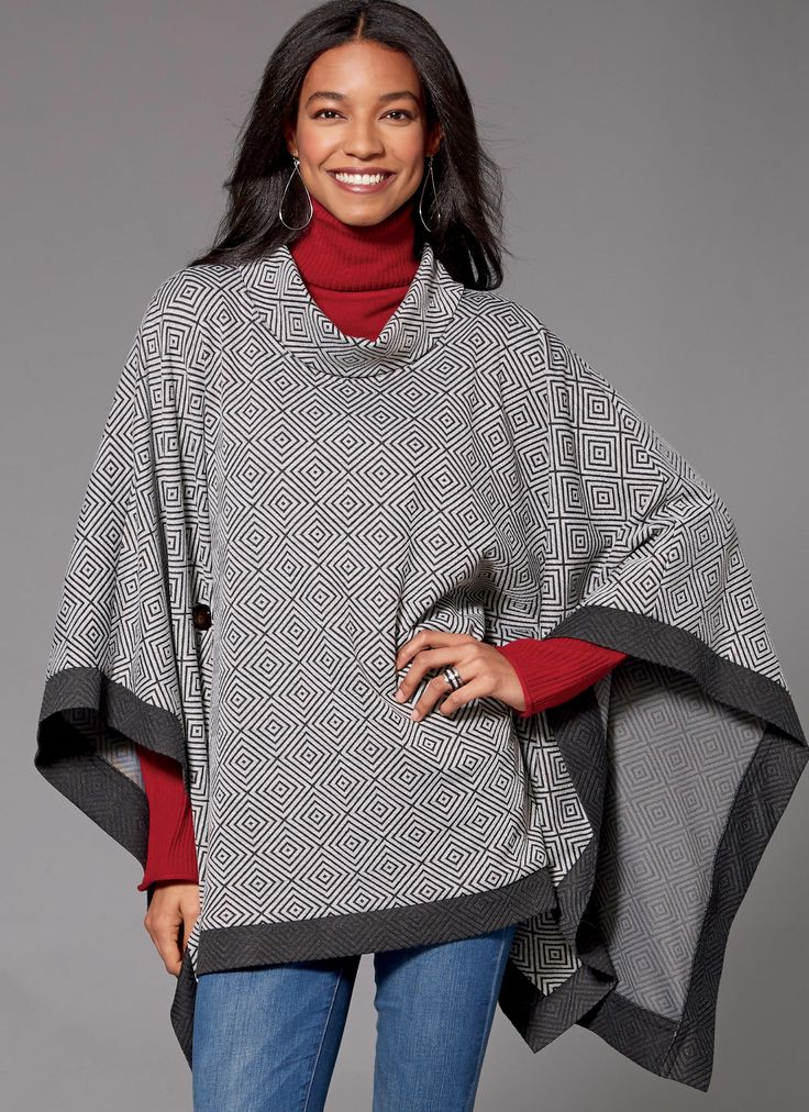 34 best Winter coat sewing patterns images on Pinterest   Cape ...