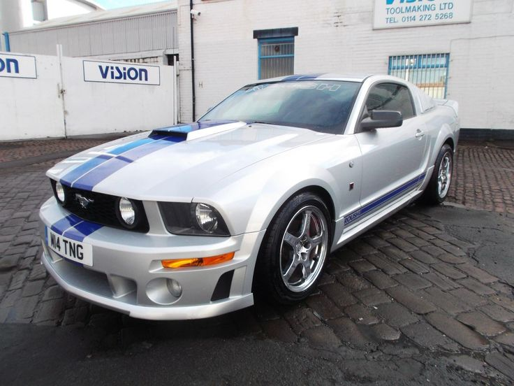 Check out this fast Ford. 2006 Ford Mustang 4.6 V8 Roush Stage 2