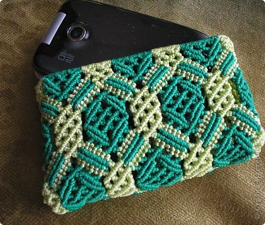 Macrame Phone Purse