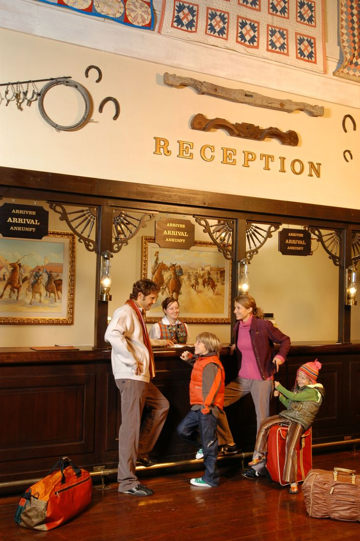 Disney Hotels, Hotel Cheyenne - Reception, Disneyland Paris. Really my favorite hotel I just love the theme and ambiance