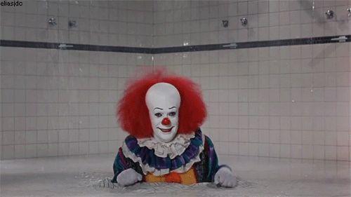 Clowns. Scariness