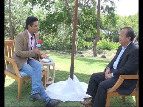 Peace  Prem Rawat Interview by Ishwa Gunnoo MBC