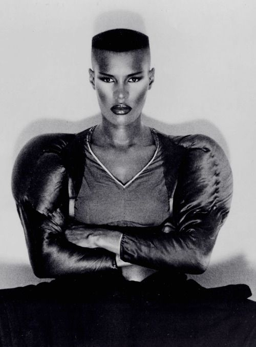 """Warm Leatherette"" Single (1980)Model: Grace JonesPhotographer: Jean-Paul Goude"