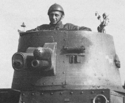 Polish single-turret Vickers M.E tank