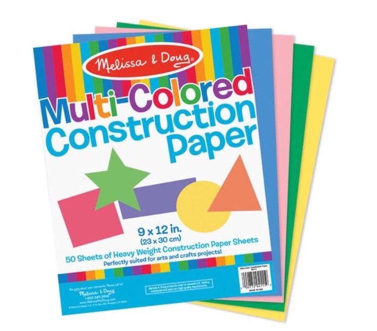 """Multi-Color Construction Paper (9""""x12"""")"""