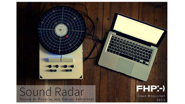 Sound Radar || Design of Physical and Virtual Interfaces || FHP Design by Jonas Wedelstädt. © Jonas Wedelstädt - FHP Design Potsdam - 2013