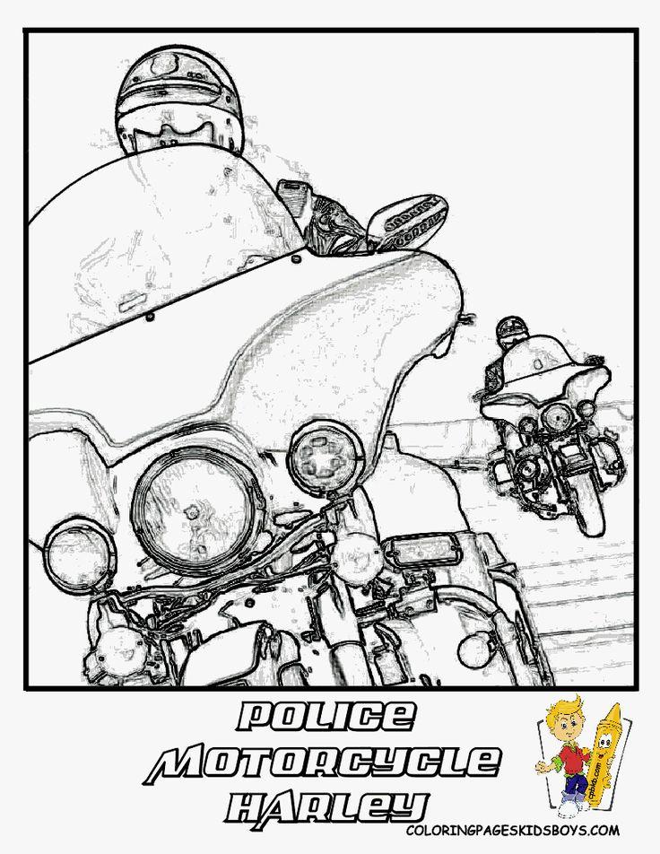 harley davidson symbols coloring pages - photo#26