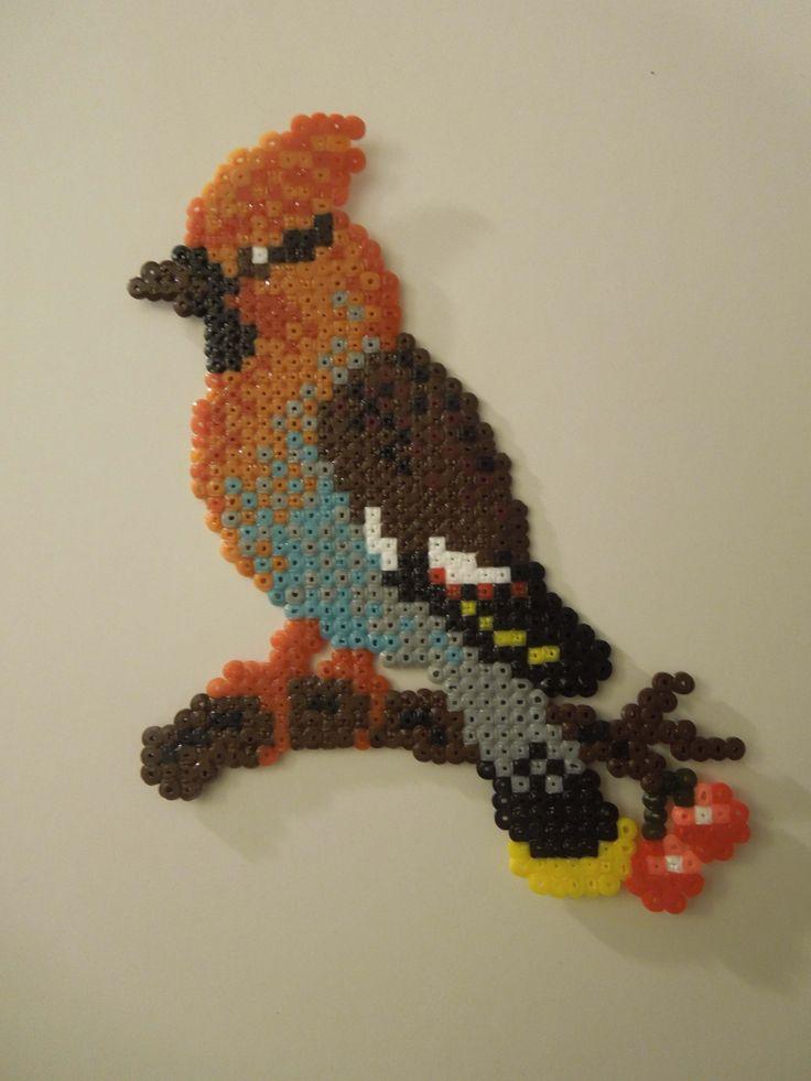 hama perler bird
