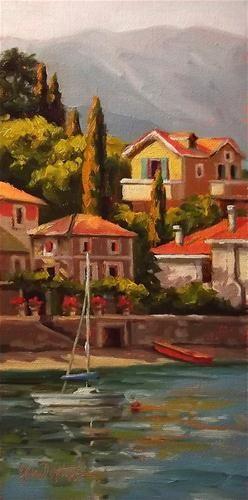 """Italian Terraces"" - Original Fine Art for Sale - © Erin Dertner"