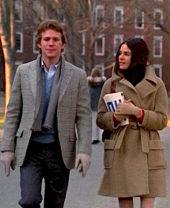 Ali MacGraw in her camel hair coat- Love Story 1970