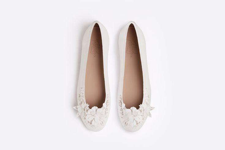 Flat wedding shoes by Lars Wallin for Flattered