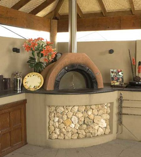 Outdoor brick oven - Mediterranean wood fired brick ovens  appliancist.com