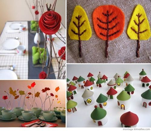holiday decorations :: craft projects for thanksgiving or christmas