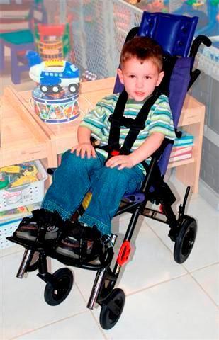 5 Point Harness Wheelchair For Pediatrics Wheelchairs