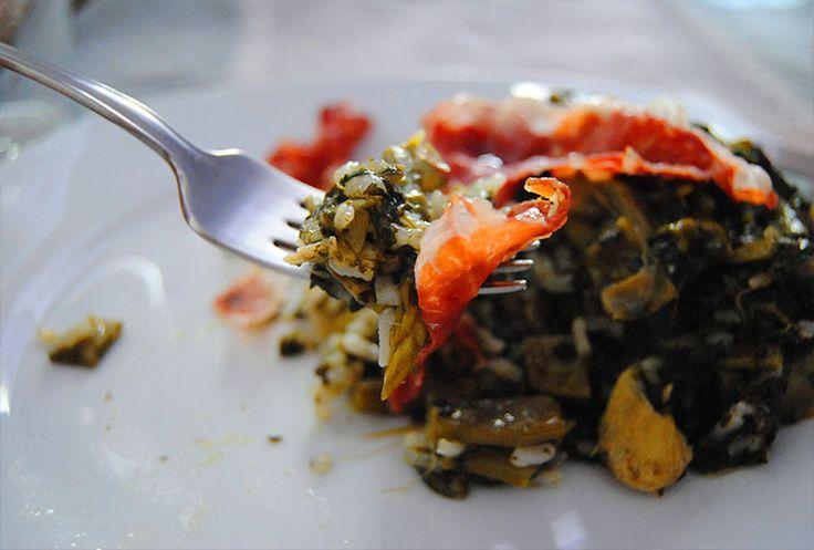 Recetas veraniegas: arroz verde o serrano | Canela y Naranja