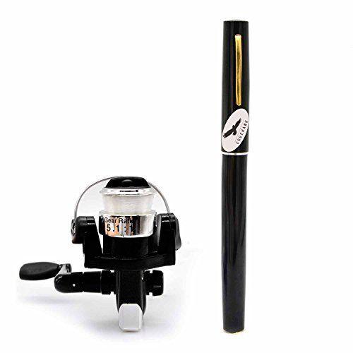 PiscatorZone Pocket Pen Rod Fishing Rod and Reel Combos: Travel Mini Rod/Sea Fishing Rod + #2000 Aluminum Spinning Fishing Reel + Fishing Line-Carbon Fiber Telescopic Lightweight and Compact - Black  http://fishingrodsreelsandgear.com/product/piscatorzone-pocket-pen-rod-fishing-rod-and-reel-combos-travel-mini-rodsea-fishing-rod-2000-aluminum-spinning-fishing-reel-fishing-line-carbon-fiber-telescopic-lightweight-and-compact/?attribute_pa_color=black  Pocket pen fishing rod and