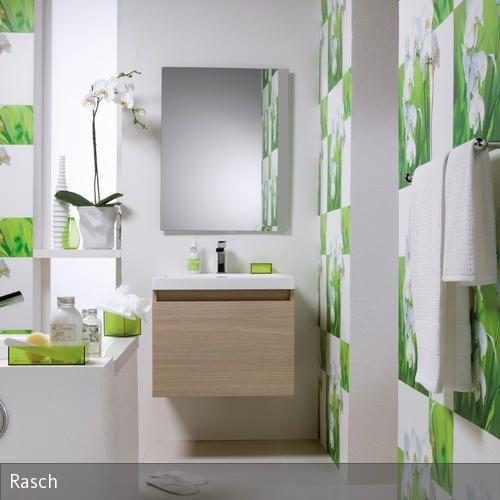 Badezimmer Tapeten Auf Fliesen : Badezimmer Tapete auf Pinterest Edle Tapeten, Tapeten und Badezimmer