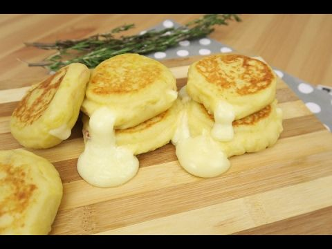 Stuffed potato pancakes: the recipe for an appetizing treat!