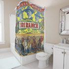 Western 101 Ranch Wild West Show Rodeo Shower Curtain