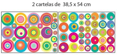 Adesivos de Parede Color Pop, I•Stick - Adesivos Decorativos