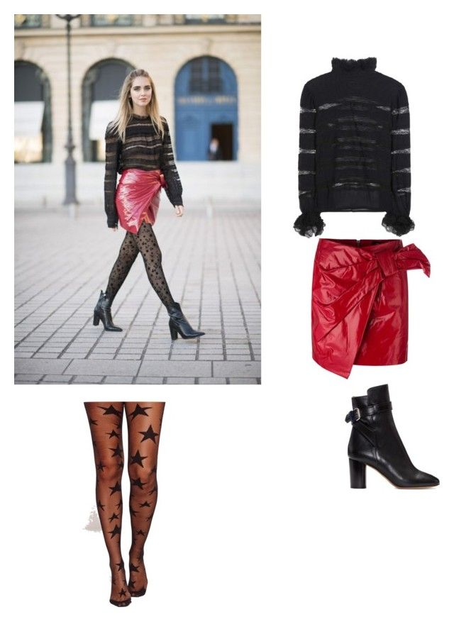 """""""Shining Stars 3 rd look of PFW"""" by aylinbagirova on Polyvore featuring Isabel Marant and Missguided"""