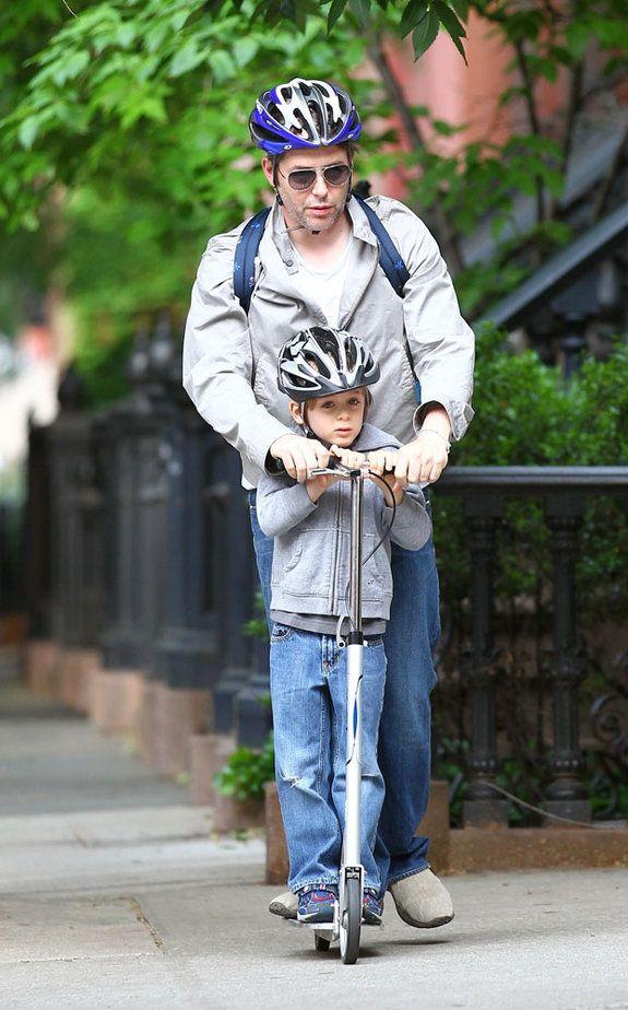 Matthew Roderick riding a Xootr Street