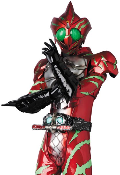 12″ Action Figure RAH GENESIS Series Kamen Rider Amazon Alpha
